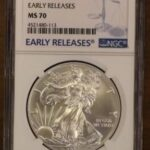 NGC Early Releases MS70 イーグル銀貨