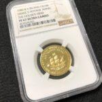 イギリスバージン諸島 金貨