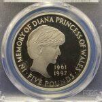 ダイアナ 1オンス銀貨