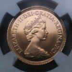 イギリス モダンコイン 金貨