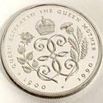 バラとアザミ銀貨