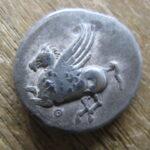 ペガサス ギリシャ 古代銀貨