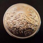 オリンピック銀貨 極美品