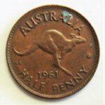 オーストラリア カンガルー銅貨