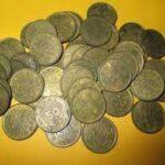 50銭黄銅貨
