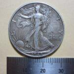ハーフダラー 銀貨