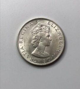 エリザベス2世 銀貨