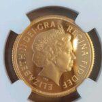 エリザベス銀貨 ソブリン