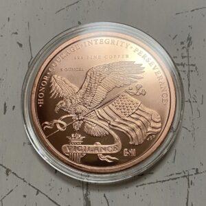 ドナルドトランプ大型銅貨