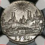 ュルンベルク 1クロイツァー 銀貨