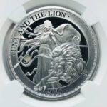 ウナトライオン銀貨