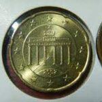 20ユーロセント 黄銅貨